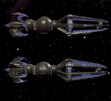 Ein Bild vom Zeitschiff aus Voyager
