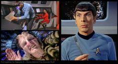 Spock guckt in die Röhre...und sieht Zathras