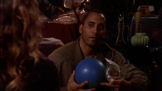 Franklin mit Ball