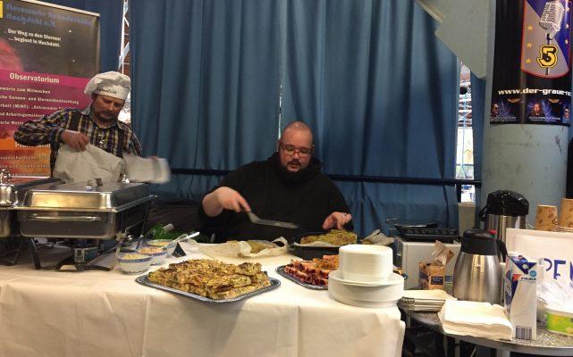 Das Essen bei der Babcon