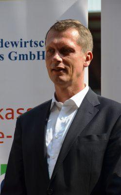 Der Cottbuser Oberbürgermeister