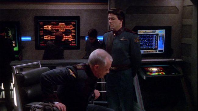 Lefcort und der Captain